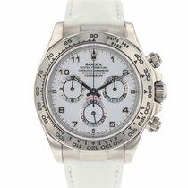 Rolex 116519 Or blanc 2003 Daytona 40mm occasion