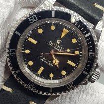 Rolex Submariner (No Date) 5513 Muy bueno Acero 40mm Automático
