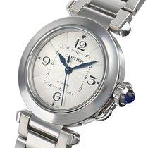 Cartier Pasha neu 2021 Automatik Uhr mit Original-Box und Original-Papieren WSPA0013