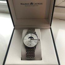 Maurice Lacroix Eliros EL1108-SS002-110-1 Sehr gut Stahl 40mm Quarz
