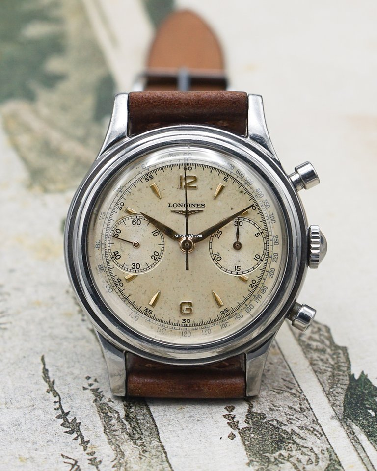 Longines longines 6075 1953 pre-owned
