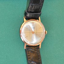 Poljot Yellow gold 34mm Gold No numerals