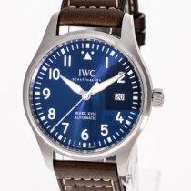 IWC Pilot Mark Сталь 40mm Синий Aрабские
