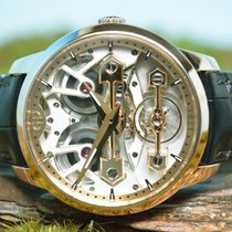 Girard Perregaux Bridges new Automatic Watch with original box and original papers 86005 / Code: 6690