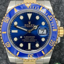 Rolex Submariner Date 116613LB Very good Gold/Steel Automatic