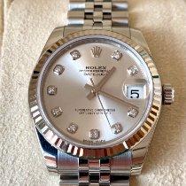 Rolex Lady-Datejust Stahl 31mm Silber Keine Ziffern Deutschland, Freiburg