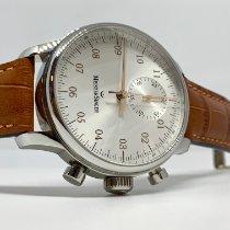 Meistersinger Singular Steel 43mm Silver
