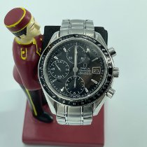 Omega Speedmaster Date Steel 40mm Black No numerals Malaysia