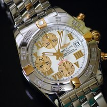 Breitling Chrono Galactic Gold/Stahl 38mm