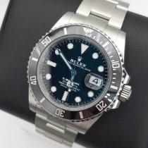 Rolex Submariner Date Steel 41mm Black No numerals Singapore