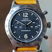 Panerai Mare Nostrum Steel Black Arabic numerals United States of America, Missouri, Chesterfield
