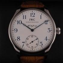 IWC Portuguese Hand-Wound Сталь 43mm Белый Aрабские
