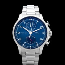 IWC Portuguese Yacht Club Chronograph Steel 44.5mm Blue United States of America, California, Burlingame