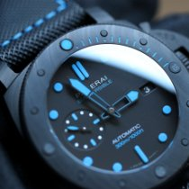 Panerai Luminor GMT Automatic Carbon 47mm Black No numerals