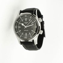 Longines Legend Diver Steel 42mm Black Arabic numerals