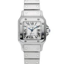 Cartier Santos Galbée Aço 35mm Prata