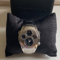 Seiko Sportura pre-owned Black