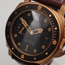 Panerai Luminor Submersible Brons 47mm Brun