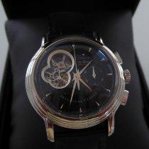 Zenith El Primero Chronomaster gebraucht 40mm Schwarz Chronograph Leder