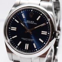 Rolex Oyster Perpetual nuevo 2020 Automático Reloj con estuche y documentos originales 124300