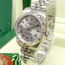 Rolex Oyster Perpetual 26 Stahl 26mm Silber
