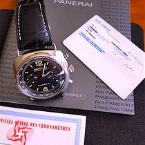 Panerai Radiomir Chronograph Steel Black Arabic numerals