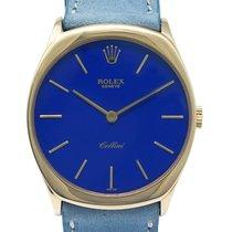 Rolex Cellini Oro amarillo 31mm Azul Sin cifras España, Barcelona