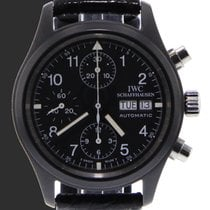 IWC pre-owned Automatic Black