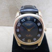 Rolex Cellini Danaos Yellow gold Black Arabic numerals
