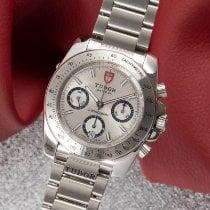 Tudor Sport Chronograph Steel 40.5mm Silver
