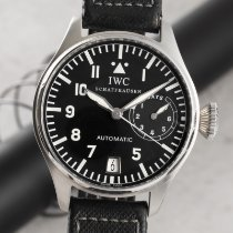 IWC Big Pilot Stal 46mm Czarny