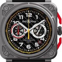 Bell & Ross BR 03-94 Chronographe Титан 42mm Черный