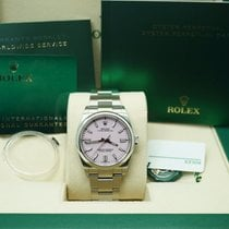 Rolex Oyster Perpetual 36 Steel Pink No numerals