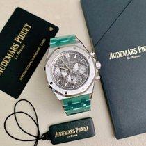 Audemars Piguet Steel Automatic Grey No numerals 38mm new Royal Oak Chronograph