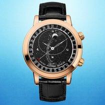 Patek Philippe Rose gold Automatic Black 44mm new Celestial