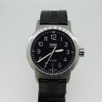 Oris BC3 Steel 42mm Black Arabic numerals