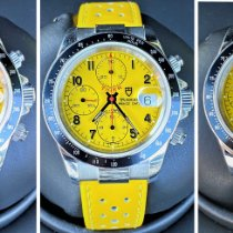 Tudor Prince Date Steel 40mm Yellow Arabic numerals United States of America, South Carolina, GREENVILLE