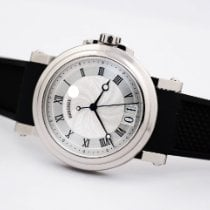 Breguet pre-owned Automatic 39mm Silver Sapphire crystal 10 ATM