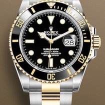 Rolex Submariner Date Gold/Steel 41mm Black No numerals United States of America, New York, Brooklyn