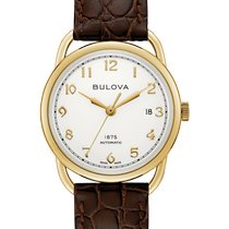 Bulova Gold/Steel Automatic 97B189 new United States of America, New Jersey, River Edge