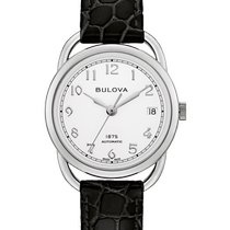 Bulova Steel 34.4mm Automatic 96M152 new United States of America, New Jersey, River Edge
