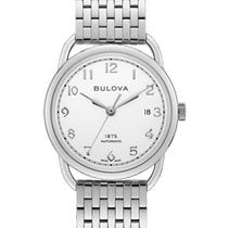 Bulova Steel 38mm Automatic 96B326 new United States of America, New Jersey, River Edge
