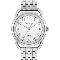 Bulova Steel 34mm Automatic 96M153 new United States of America, New Jersey, River Edge