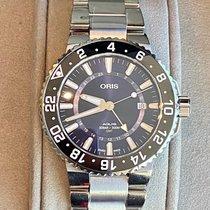 Oris Aquis GMT Date Steel 43.5mm Blue No numerals United States of America, Illinois, CHICAGO