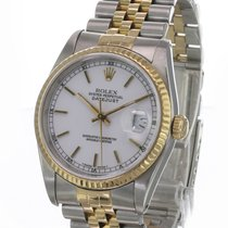 Rolex Datejust Gold/Steel 36mm White United States of America, California, Sherman Oaks