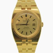 Omega Constellation Ladies Yellow gold 26.8mm Gold (solid) No numerals Australia