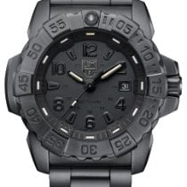 Luminox Steel Quartz Black Arabic numerals 45mm new