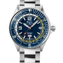 Ball Engineer Master II Diver Steel 42mm Blue Arabic numerals United States of America, New Jersey, River Edge