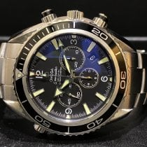 Omega Seamaster Planet Ocean Chronograph Steel 45.5mm Black Arabic numerals Singapore