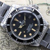 Rolex Sea-Dweller Acero 40mm Negro Sin cifras